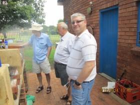 Daryl ZS6DLL, Johan ZS6CAQ and Dave ZS6AZP